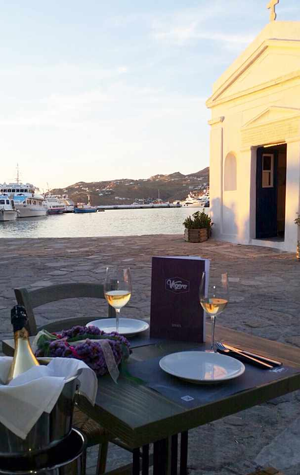 Vegera Mykonos photo from the restaurants Facebook page