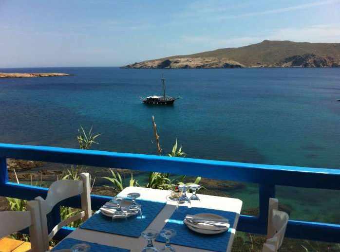 Veranda restaurant at Mykonos Star Suites & Apartments