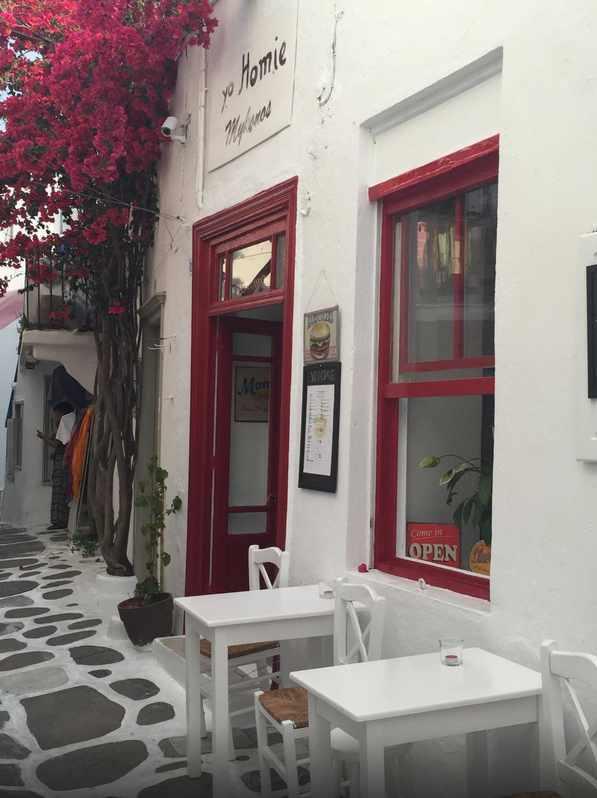 Yo Homie burger bar Mykonos photo shared by TripAdvisor member Polina G