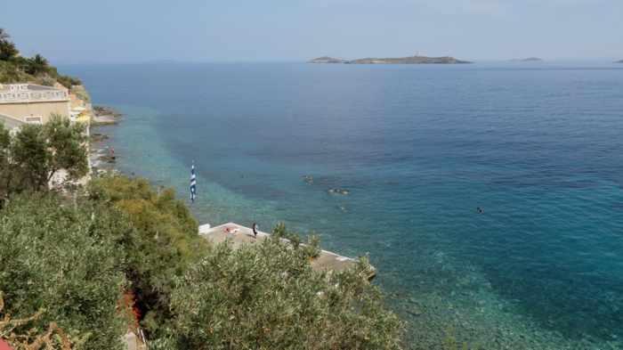 Asteria beach on Syro