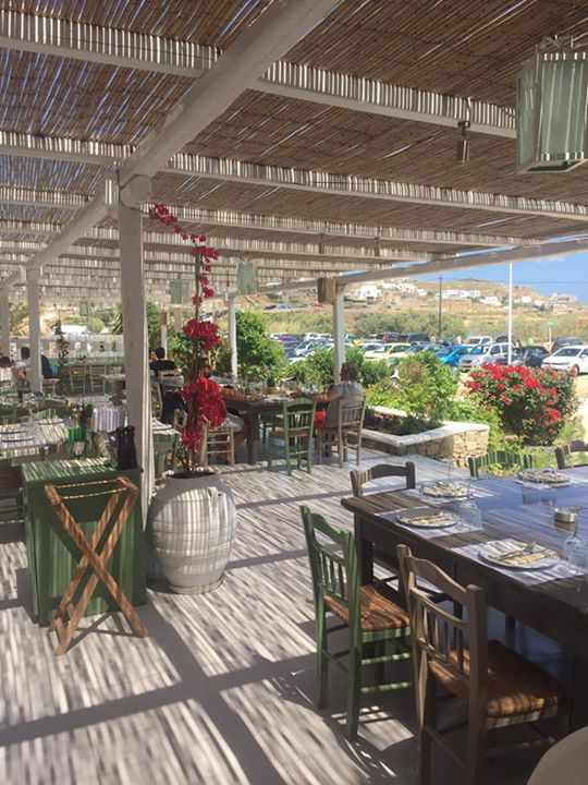Altro Seaside Trattoria Mykonos dining terrace photo from Facebook