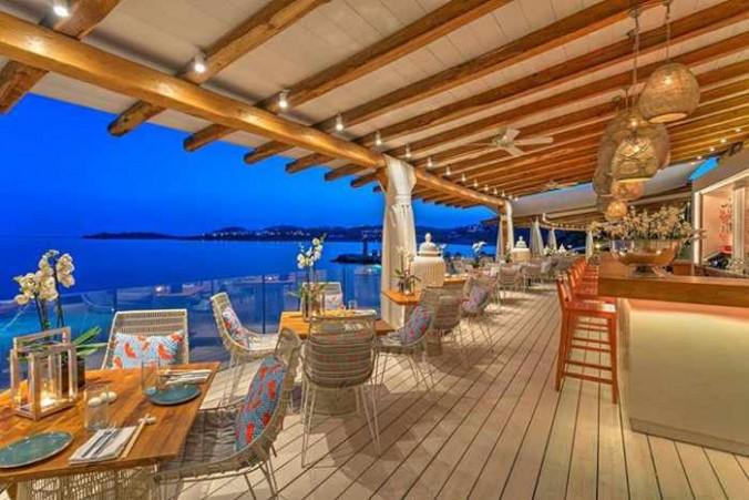 Buddha-Bar Beach Mykonos photo from the restaurant's Facebook page
