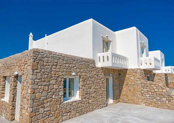 Cape Mykonos Residences exterior photo from the Cape Mykonos Facebook page