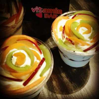 D'Angelo Refresh Vitamin Bar Mykonos yogurt