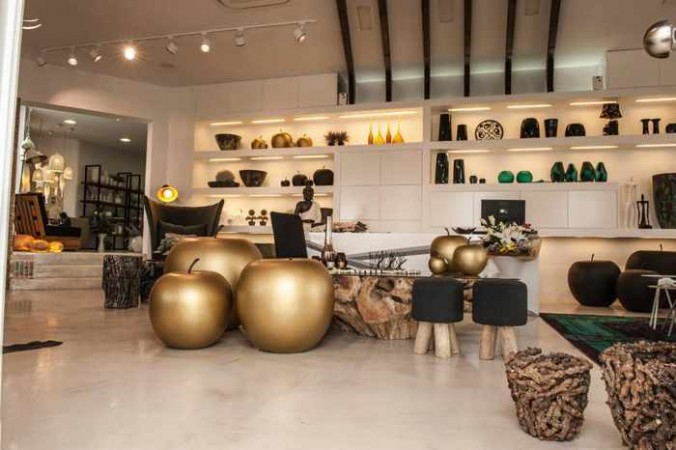 Decord Mykonos showroom interior view photo from the Decord Facebook page