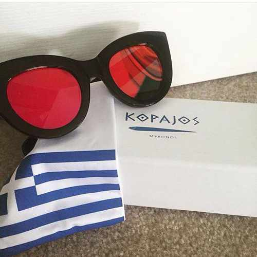 Facebook page photo of eyewear from Kopajos Mykonos
