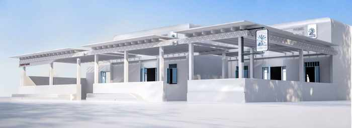 Food Mall Mykonos image from the restaurants' Facebook page