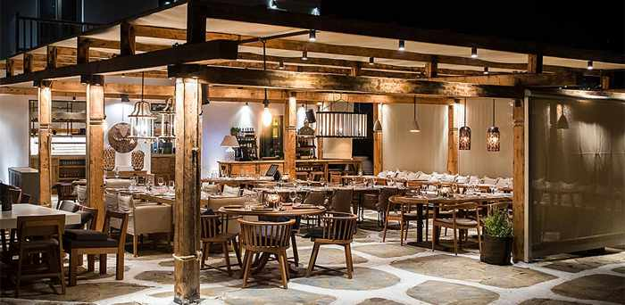 Inyama Surf and Turf Mykonos photo from the restaurant's website YRT1023
