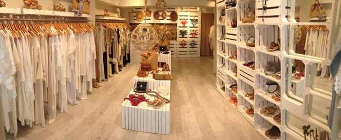 Irene Boutique Mykonos interior photo from the shop's Facebook page