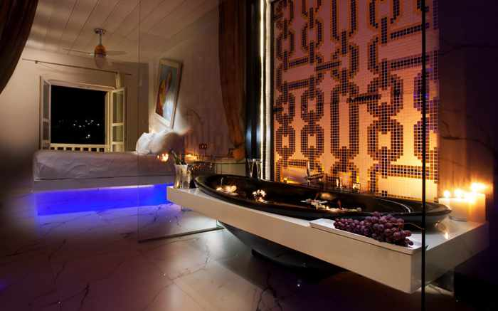 Kivotos Luxury Boutique Hotel Mykonos renovated suite