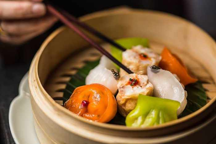 Ling Ling Mykonos Facebook page photo of the restaurant's luxury dim sum platter