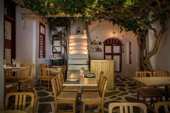 Lotus Resto Bar Mykonos photo shared on Twitter by George Sarafidis