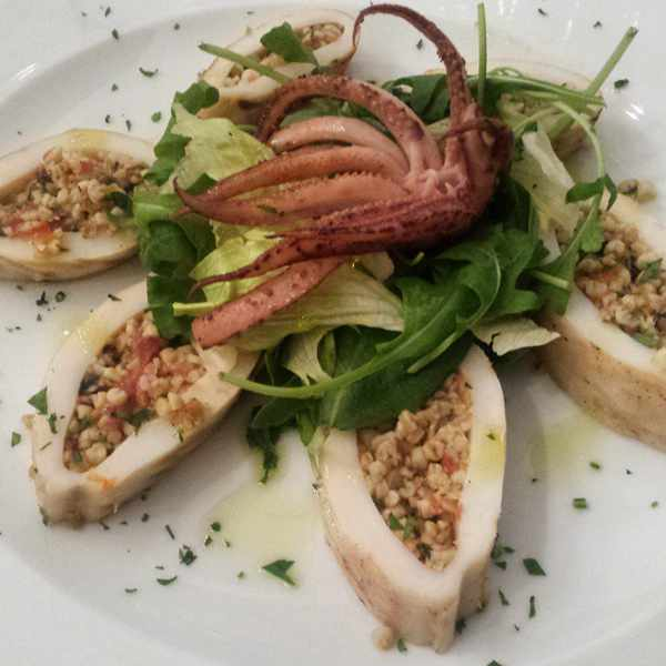 Mama's Cuisine Facebook page photo of grilled squid