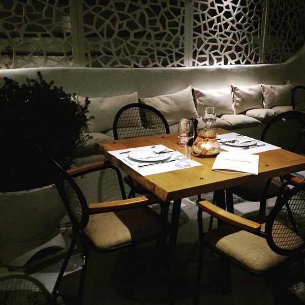 Mama's Cuisine restaurant Mykonos interior view photo 02 from Facebook