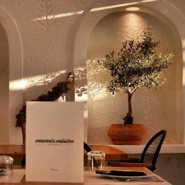 Mama's Cuisine restaurant Mykonos interior view photo from Facebook