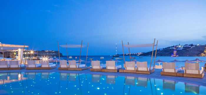 Mykonos Blanc Hotel photo from the hotel Facebook page