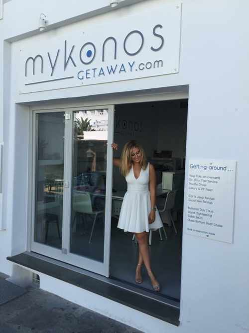 Mykonos Getaway office in Mykonos Town