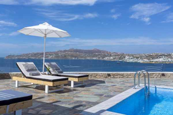 Mykonos No 5 Villas luxury apartments photo 10 from the hotel website