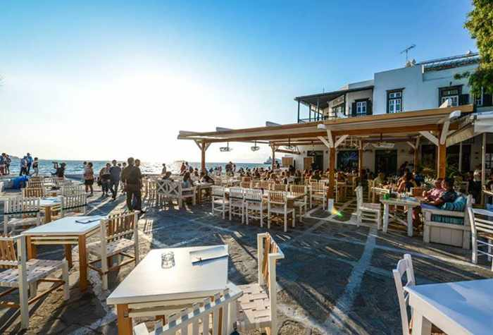 Nice n Easy Mykonos photo from the restaurant's Facebook page