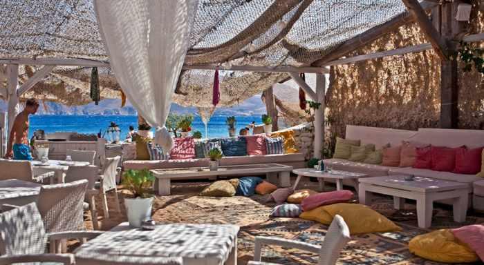 Panormos beach bar and restaurant Mykonos