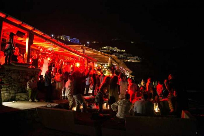 Party time at Buddha-Bar Beach Mykonos photo from Facebook