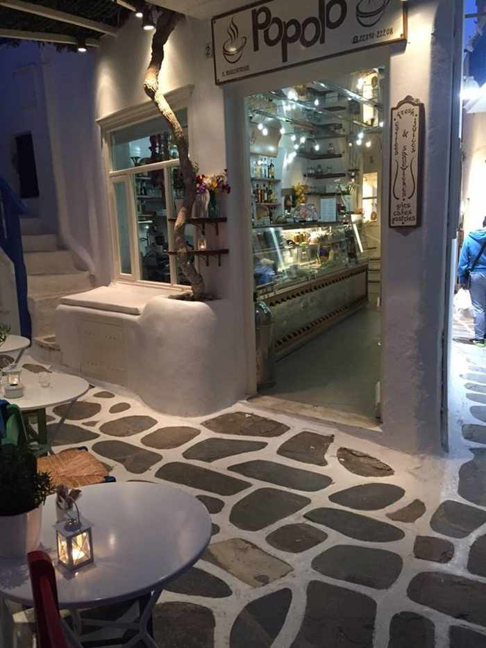 Popolo Mykonos photo from the restaurant's Facebook page