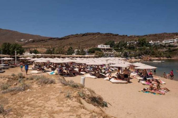Facebook page photo of Sunbeds at Panormos Mykonos Beach Resort