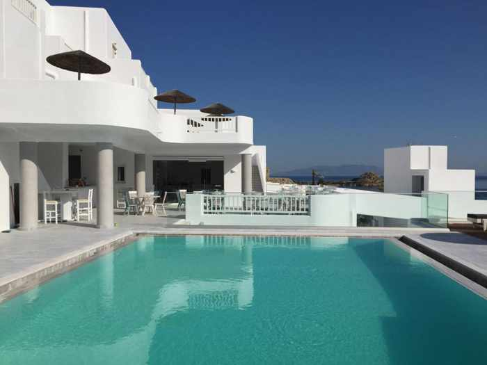 The George Hotel Mykonos photo 01 from the hotels Facebook pag