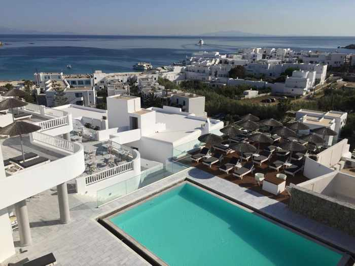 The George Hotel Mykonos photo 02 from the hotels Facebook page