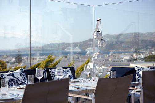 Thea restaurant Facebook photo of private dining area and its view