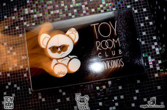 Toy Room Club Mykonos photo from the club's Facebook page