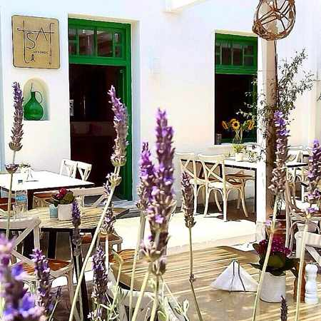 Tsaf Mykonos photo from the restaurant's Facebook page 450 px