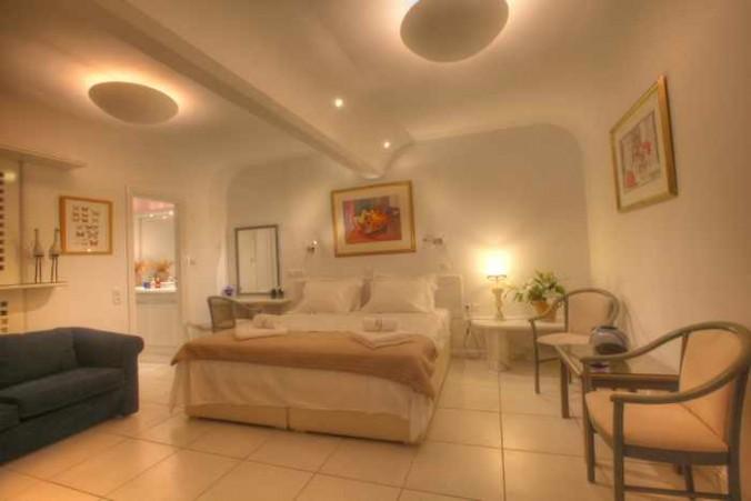 Villa La Terrrasse at Psarou beach Mykonos website photo of executive studio interior