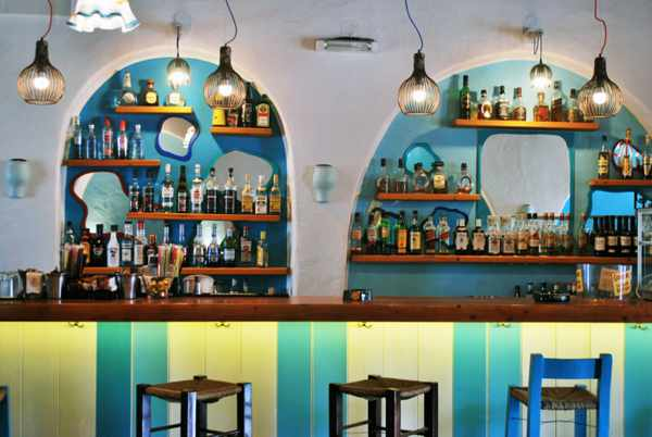 Zorbas Bar Mykonos photo from Pente Architecture & Art website