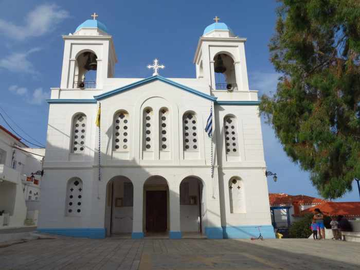 Agios Georgios Church Andros Town