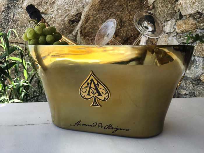 Armand de Brignac champagne photo from the Saint Anna Beach Bar & Restaurant Facebook page