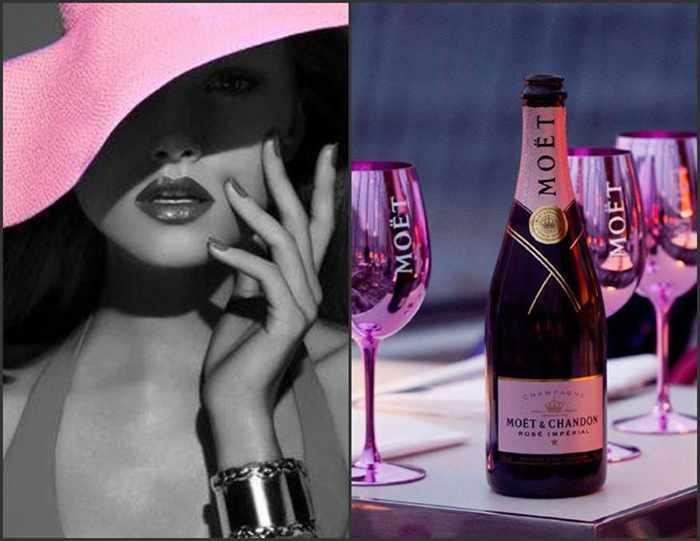 Cayenne Mykonos champagne photo