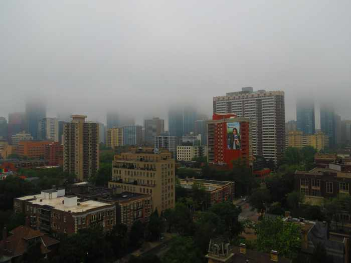 downtown Toronto view on June 14 2015