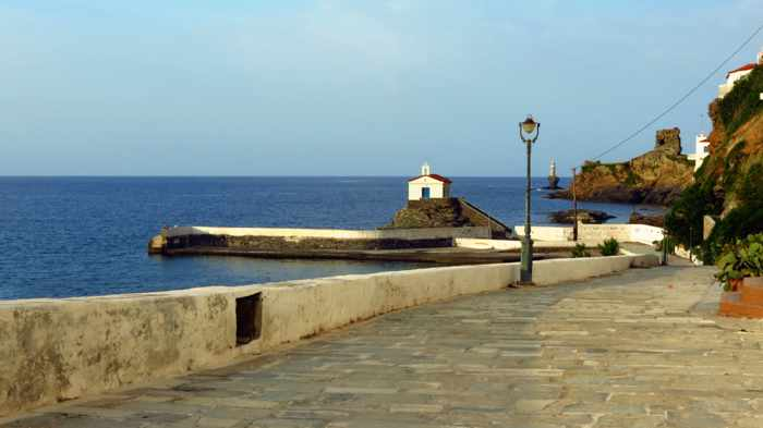 Agia Thalassini Church on Andros