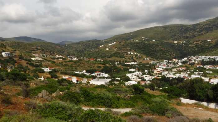 stormclouds over Batsi