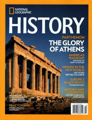 National Geographic History magazine cover October November 2015