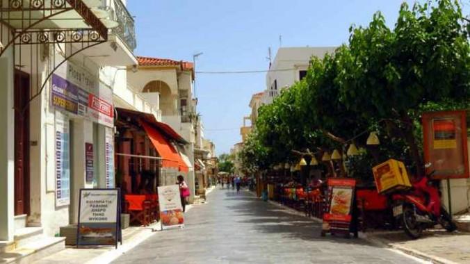 Empeirikou Street in Andros Town