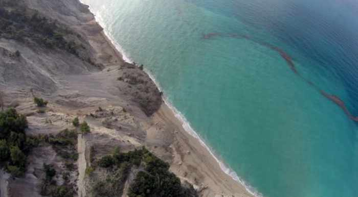 Egremni beach on Lefkada