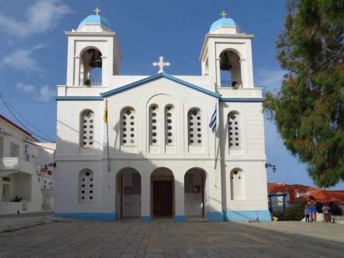 Agios Georgios Church in Andros Town