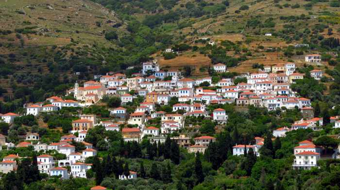 Stenies area of Andros
