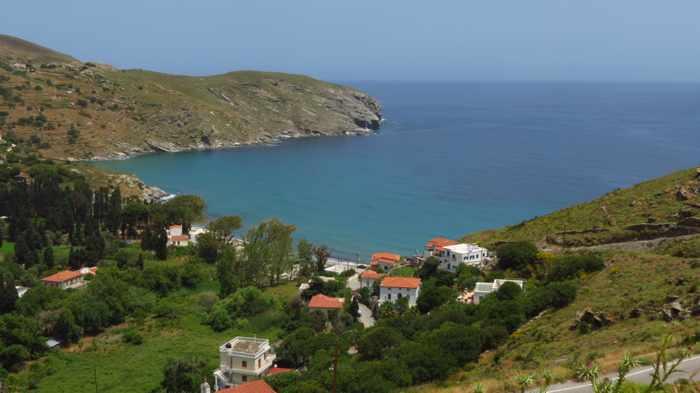 Gialia bay Andros