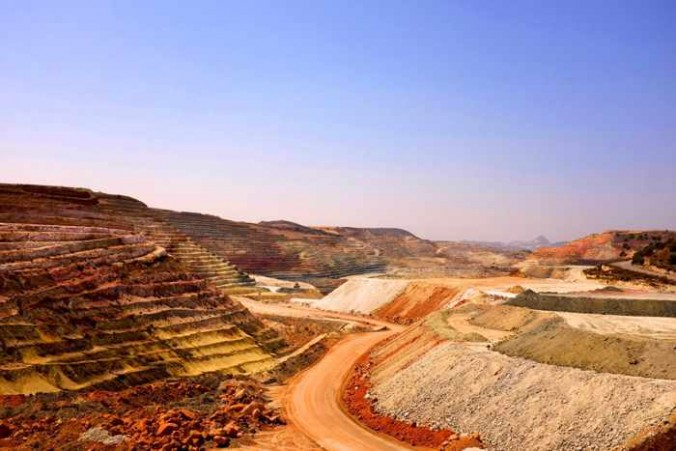 Ageria mine site on Milos