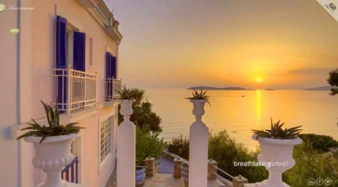 Aneroussa Beach Hotel website photo