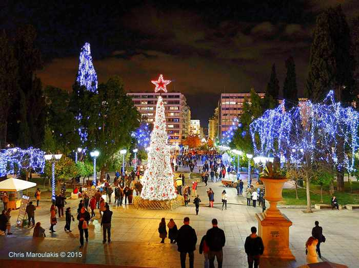 Syntagma Square Athens photo by Chris Maroulakis