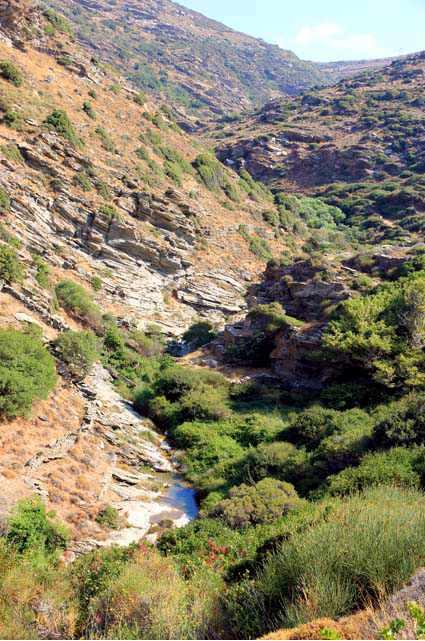 Dipotomata gorge Andros